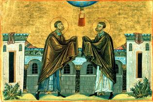 Фото: святые Косьма и Дамиан — интересные факты