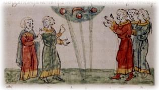 Фото: НЛО в средневековых рукописях, интересные факты
