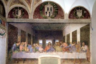 Фото: Тайная вечеря в Милане — интересные факты