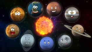 Фото: Солнечная система для детей, интересные факты