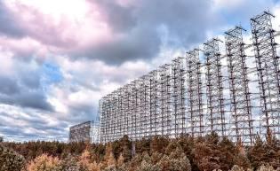 Фото: радиолокационная станция Дуга, интересные факты