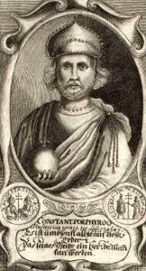 Фото: Константин VI и Феодота — интересные факты