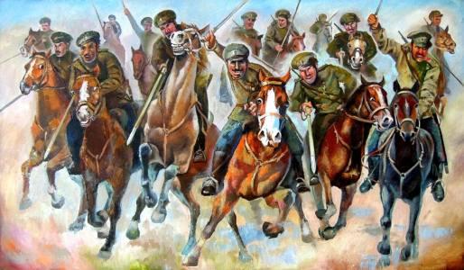Фото: конный рейд Мамантова — интересные факты