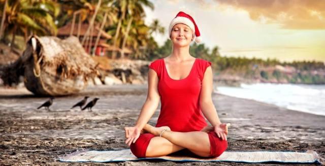 Фото: новогодняя медитация