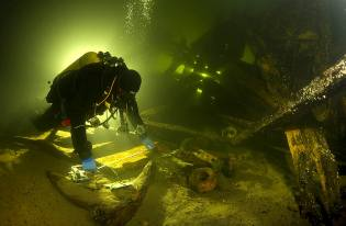 Фото: морская археология, интересные факты