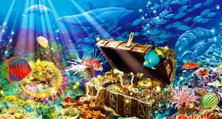 Фото: подводный клад на дне моря, интересные факты