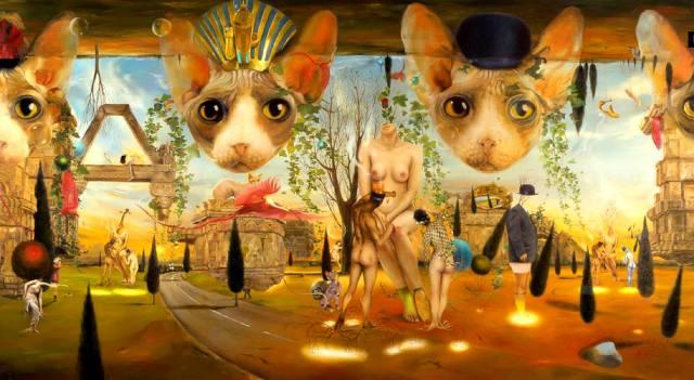 Картина: Семь жизней кота — интересные факты