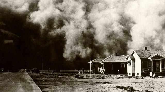 Фото: пыльные бури в США — интересные факты
