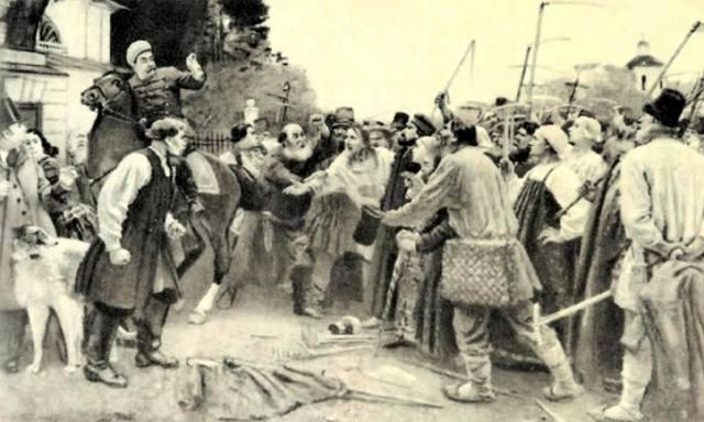 Фото: Картофельный бунт 1842 года, интересные факты