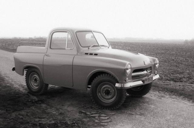 Фото: внедорожник ГАЗ М-73 Украинец, интересные факты