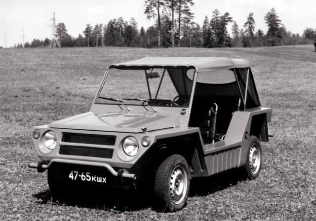 Фото: автомобили СССР, которых не было — интересные факты