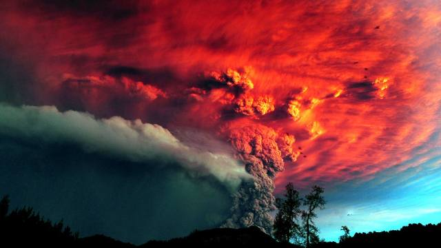 Фото: самые известные извержения вулканов