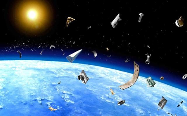 Фото: космический мусор — интересные факты