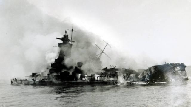 Фото: гибель линкора Адмирал граф Шпее, интересные факты