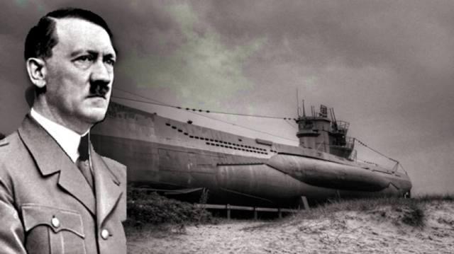 Фото: Гитлер бежал на подводной лодке?