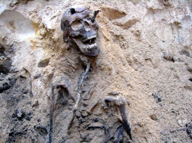 Фото: захоронение в Дубовке — интересные факты