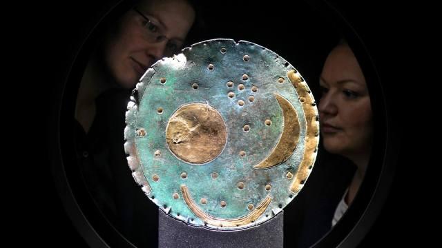 Фото: Звёздный диск из Небры — интересные факты