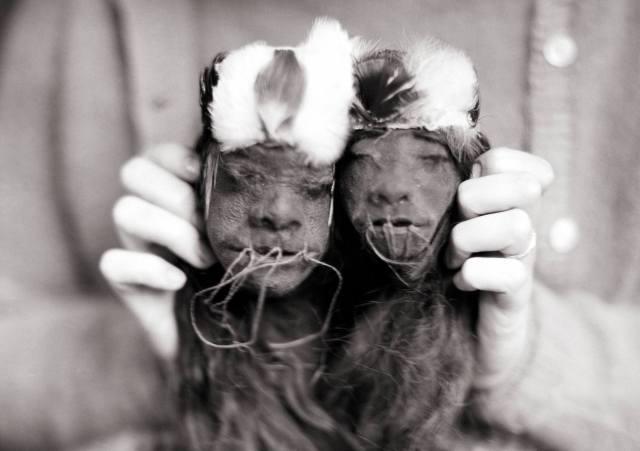 Фото: головы тсантса — интересные факты