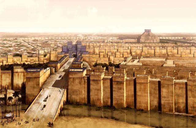 Фото: как погиб Вавилон, интересные факты