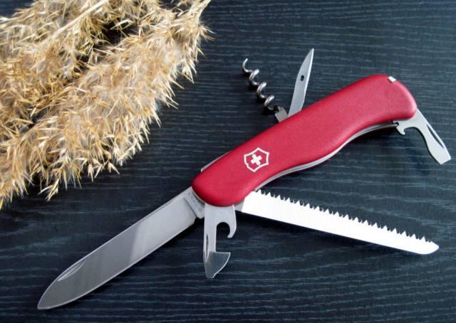 Фото: швейцарский нож — интересные факты