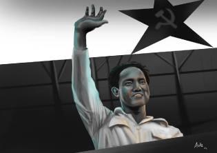 Фото: Дипа Айдит — глава коммунистов Индонезии