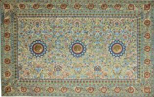 Фото: жемчужный ковёр Барода, интересные факты