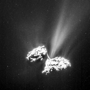 Фото: комета Чурюмова-Герасименко, интересные факты