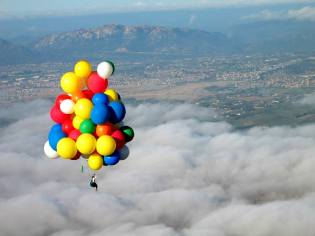 Фото: Виталий Куликов — полёт на воздушных шарах