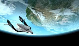 Фото: космический туризм от Virgin Galactic