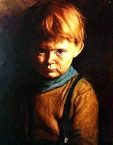 Фото: картина Плачущий мальчик, интересные факты