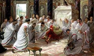 Фото: убийство Юлия Цезаря — интересные факты