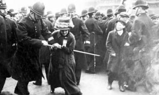 Фото: суфражистки — экстремизм в Англии, интересные факты