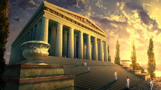Фото: храм Артемиды Эфесской