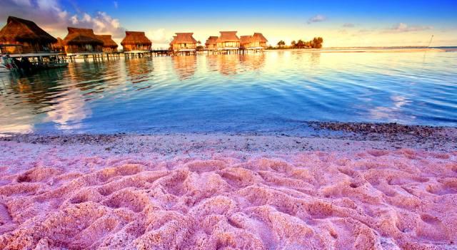 Фото: самые необычные пляжи мира