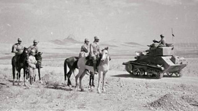 Фото: иранская операция Красной армии 1941 года