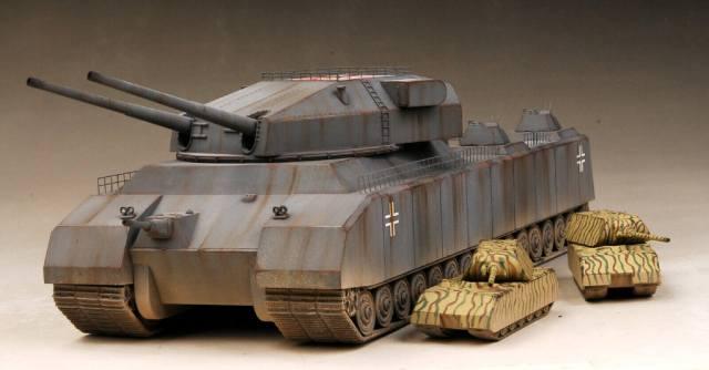Фото: самые необычные танки Второй мировой войны