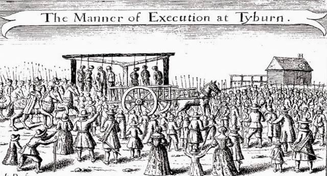 Фото: казнь как развлечение для обывателей