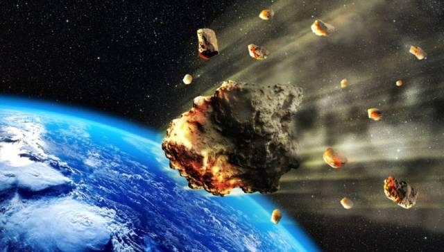 Фото: астероиды угрожающие Земле