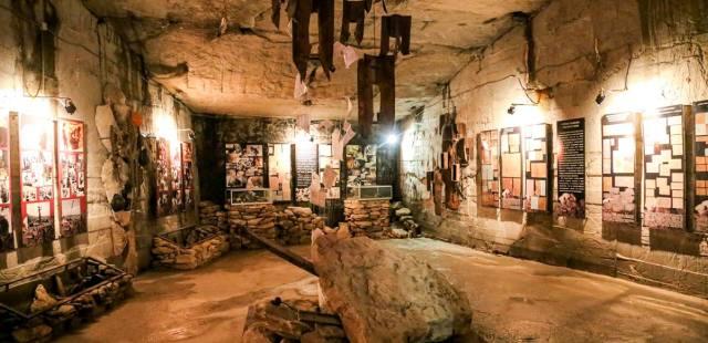 Фото: аджимушкайские каменоломни — история войны