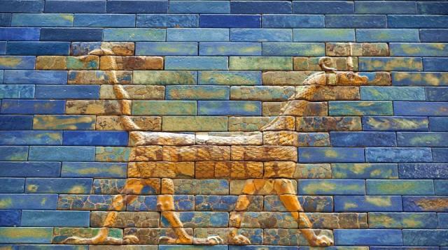 Фото: Сирруш — Вавилонский дракон с врат царицы