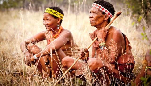 Бушмены — народ Африки