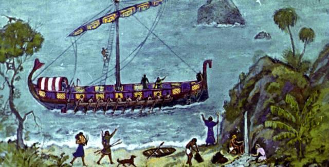 Как финикийцы открыли Америку