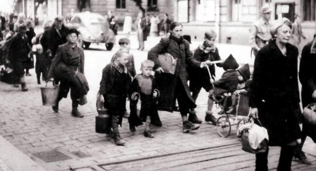 Депортация немцев из Европы после войны