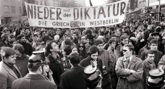 Студенческие протесты в ФРГ в 1968 году