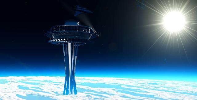 Космический лифт — проект орбатального транспорта