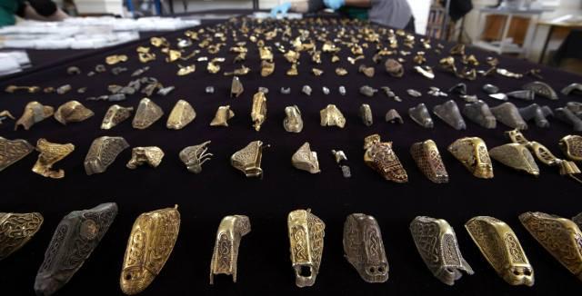 Стаффордширский клад найденный в Англии