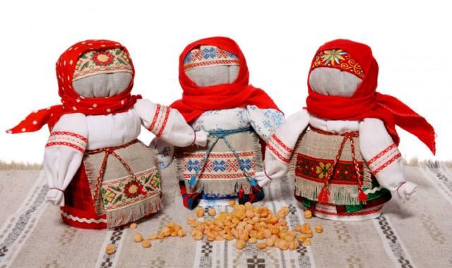Волшебные куклы Древней Руси