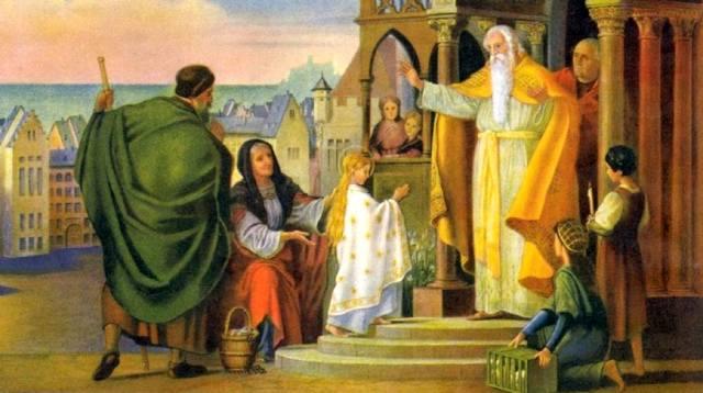 Введение во храм Пресвятой Богородицы — история праздника