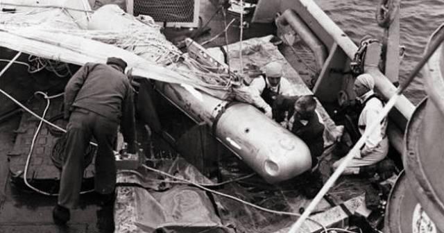 Паломарес — катастрофа с атомной бомбой