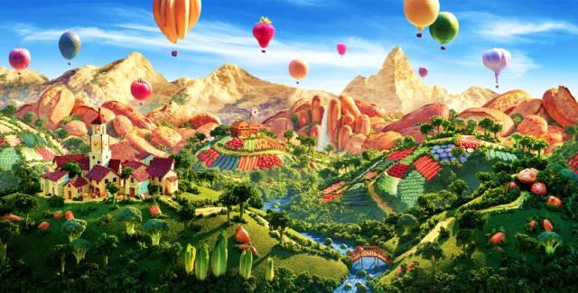 Карл Уорнер: Съедобные пейзажи